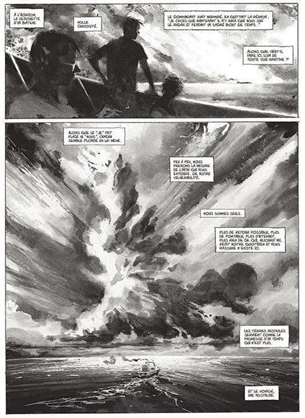 BD maritime, Le Page dessinateur, Marion Dufresne, BD Astrolabe