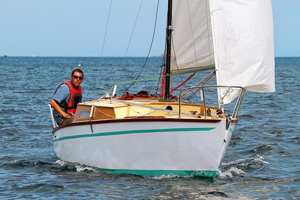 Corsaire Morin en navigation
