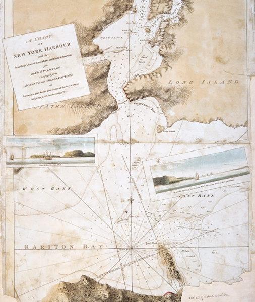 Carte port de new york