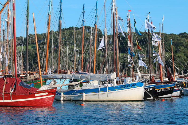 Fête maritime Douarnenez, Temps Fête