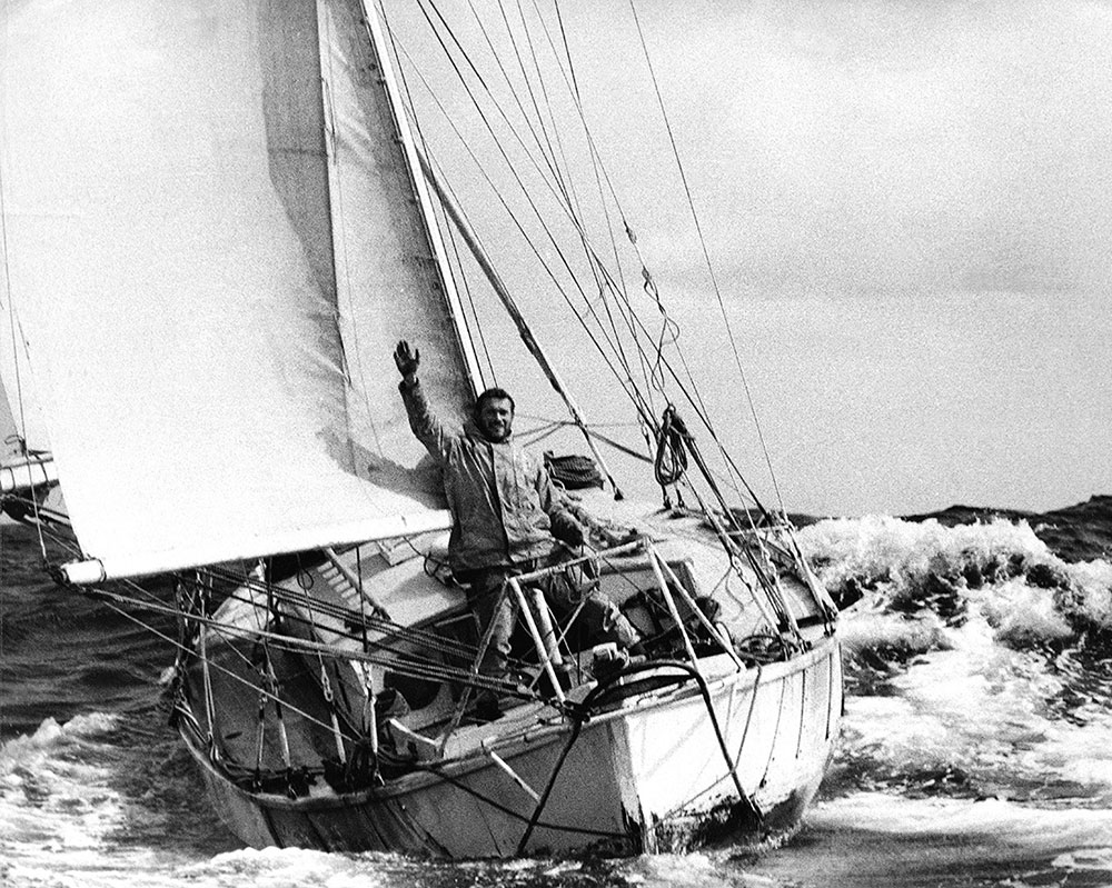 Golden Globe Race, Knox-Johnston