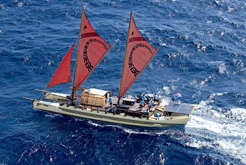Fidji, navigation