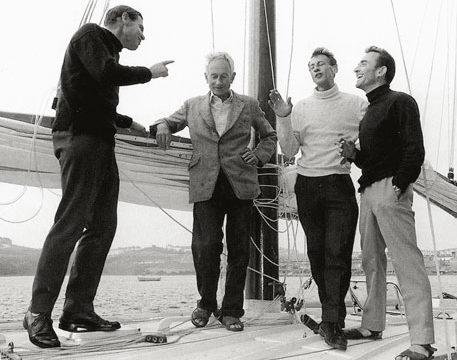 Golden Globe race 1968, Moitessier, Robin Knox-Johnston, Loïck Fougeron, histoire
