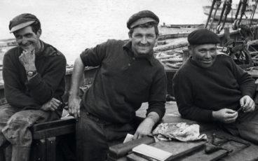 portrait de trois marins