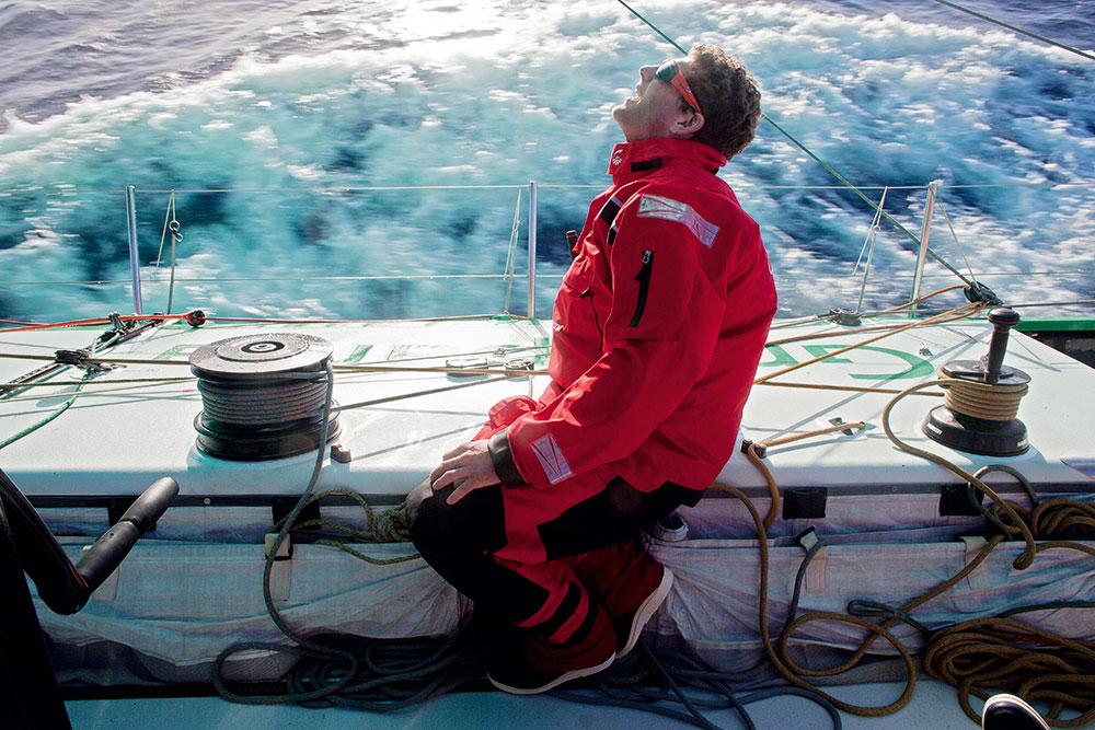 marin en navigation
