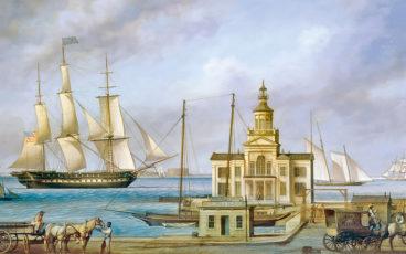 tableau d'un bateau en polynésie