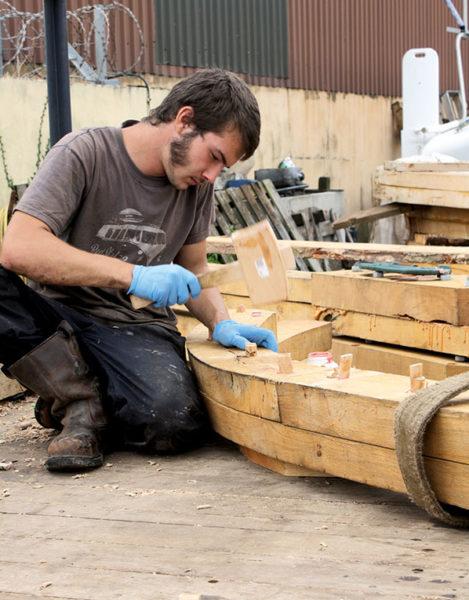 Grayhound Lugger, transport à la voile, Voilier traditionnel Douarnenez