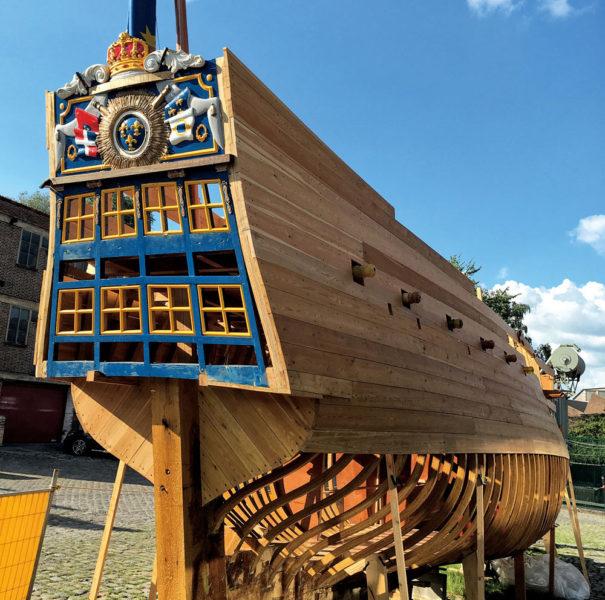 Flottille de Versailles, Atelier marin Bruxelles, chantier naval Bruxelles