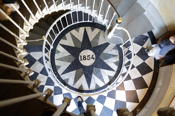 Escalier phare