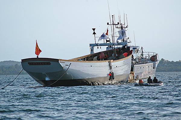 remorquage bateau