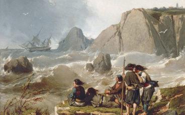 peinture naufrage Neptune