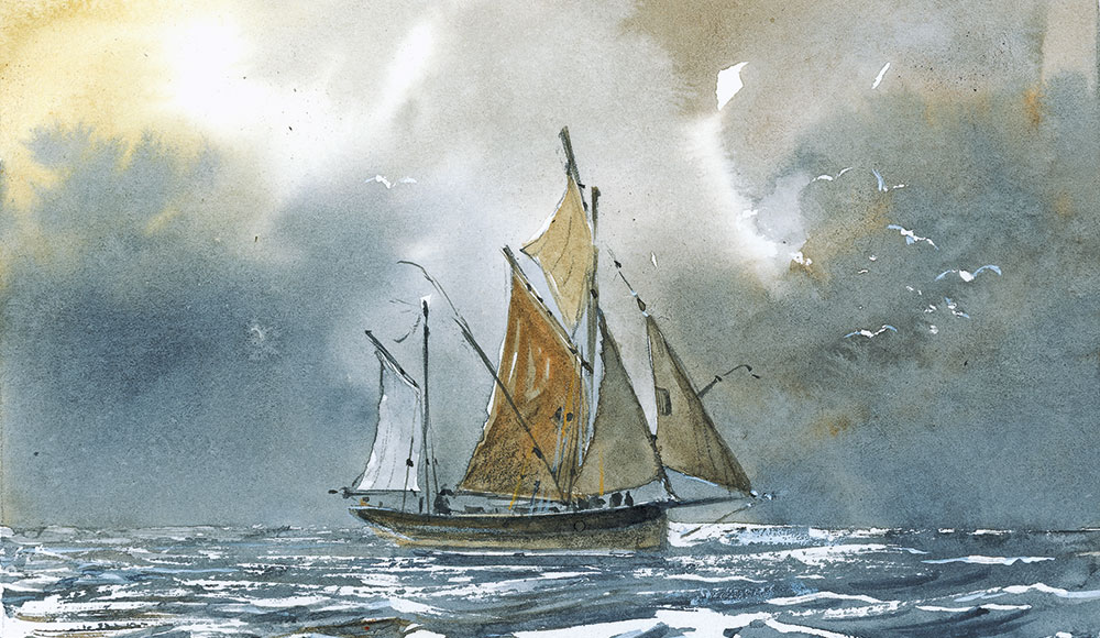 peinture voilier