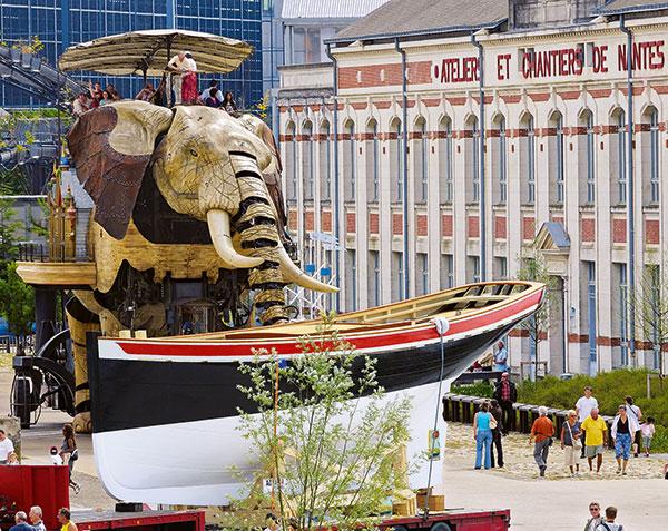 coque de bateau à Nantes
