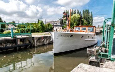 Navigation Somme, navigation sur canal, Nauporos Somme