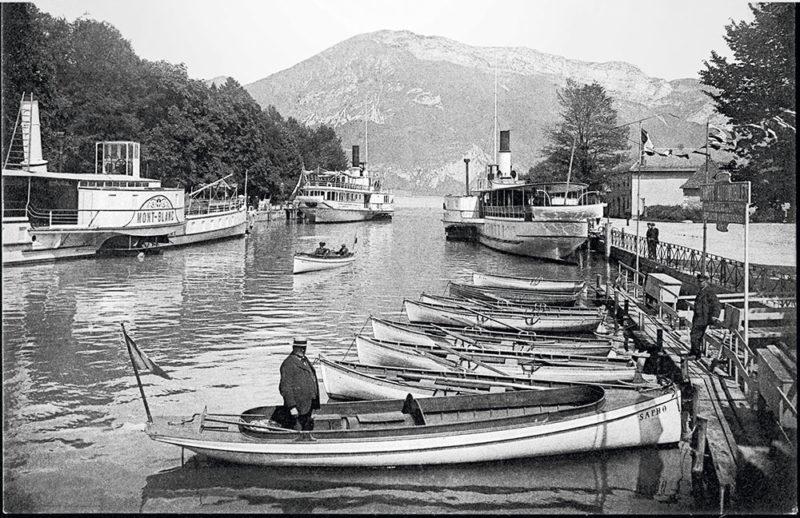 batellerie du lac d'annecy