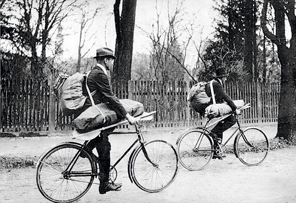 photo deux cyclistes