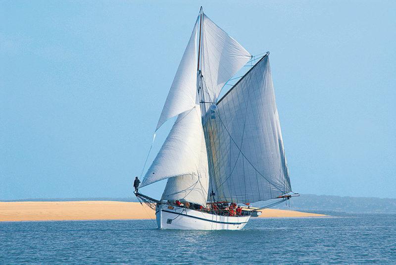 bateau sous le vent