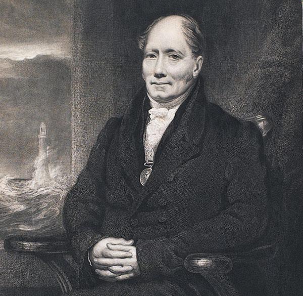 Peinture portrait Robert Stevenson