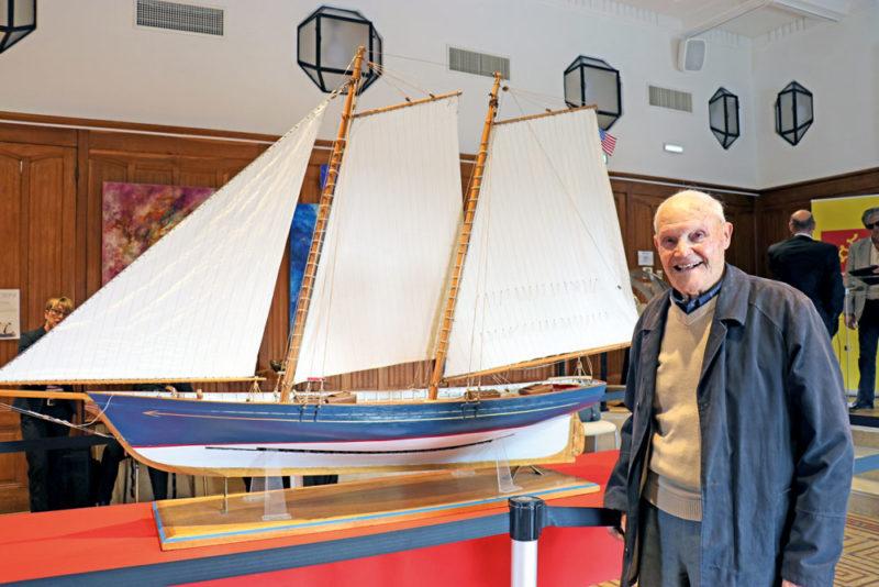 Modélisme bateau, Maquette de bateau, André Aversa Sète, chantier Aversa, Musée de la mer Sète