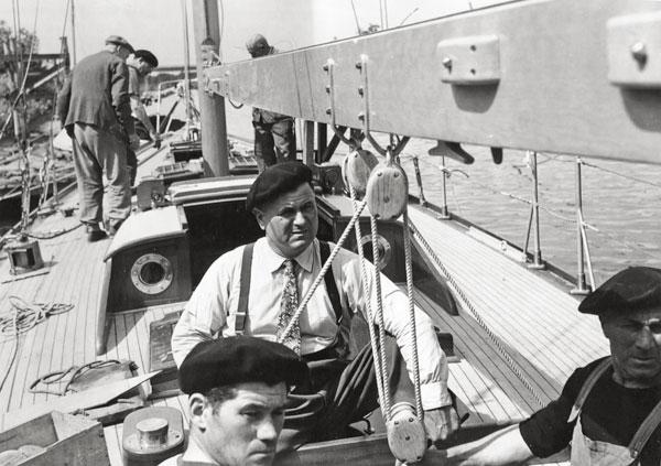 Hallali yacht, Franck Guillet bateau, Hallali 12MCR