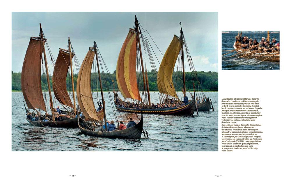 Viking Ship Museum, bateaux viking, construction bateaux viking, Musée maritime Danemark