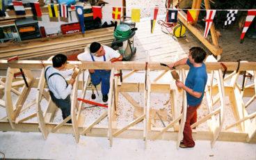 Jim Bresson charpentier, Chantier Serica, Serica & Riopelle, expo Riopelle