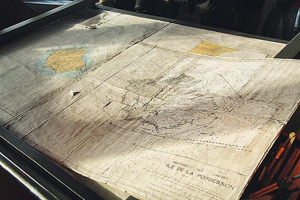 Ancienne carte marine