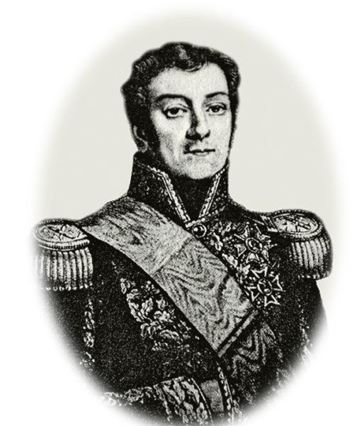Portrait de Victor Hugues, gouverneur de Guyane française en 1800