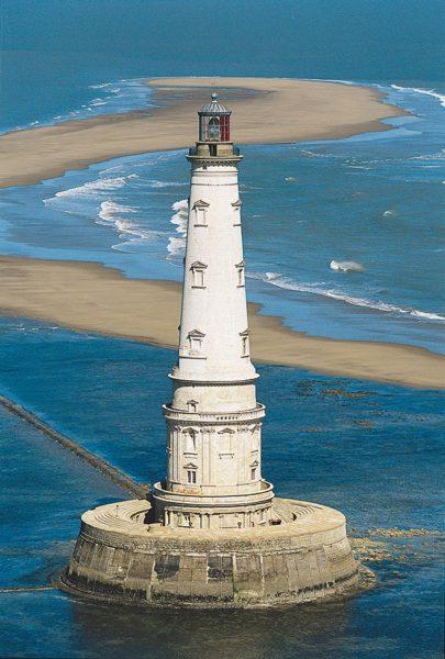 vue phare Cordouan