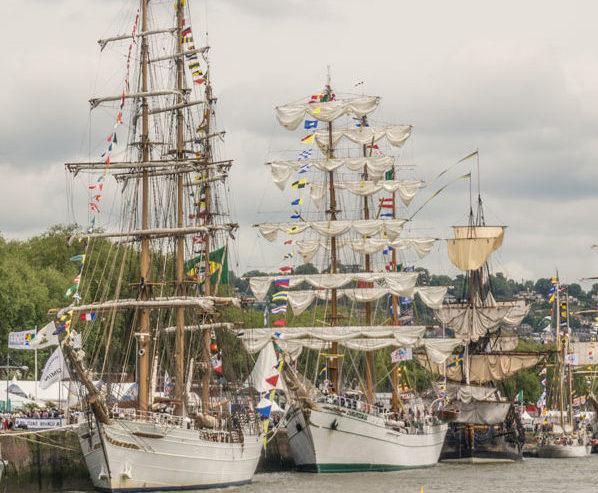 Armada de Rouen, Grands voiliers de Rouen, Armada Seine