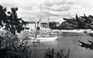 yacht Bolloré, yacht Lelanta, Lelanta sailing