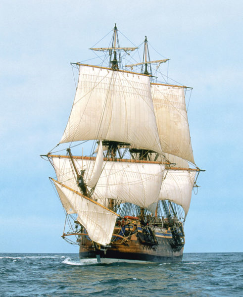 Jens Langert Hermione, Jens Langert bosco, marin Hermione, Tall ship Götheborg