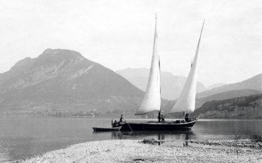 lac d'Annecy, bateaux lac d'Annecy, histoire lac d'Annecy