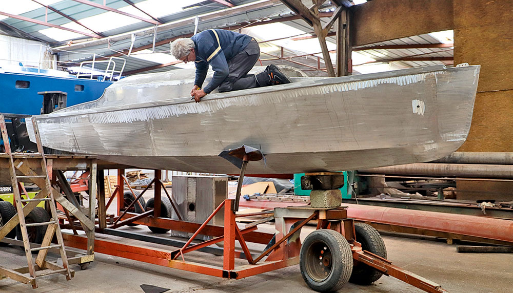 Bélouga en aluminium