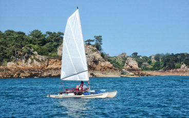 le catamaran Eva'a,
