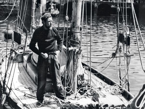Edward Allcard à bord de Temptress