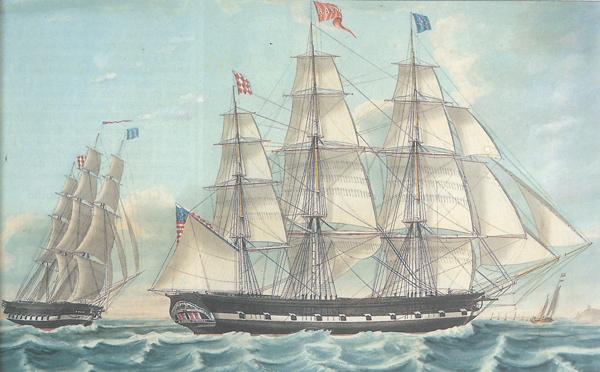 Les Tribulations Du Capitaine Slocum Chasse Maree