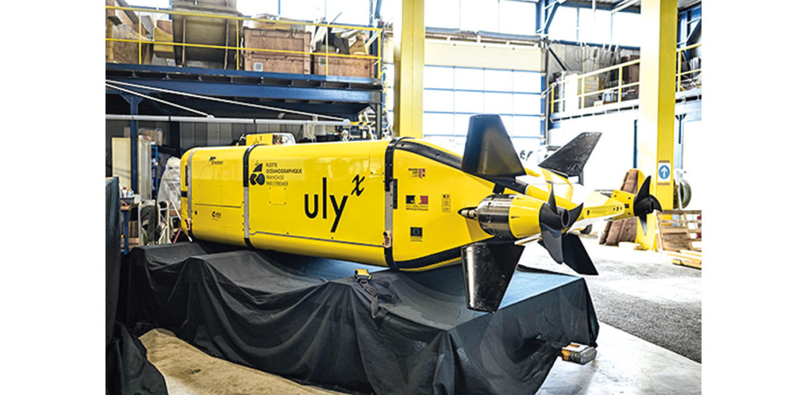 Un yellow submarine sans pilote