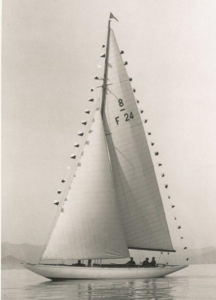 François Camatte yachting