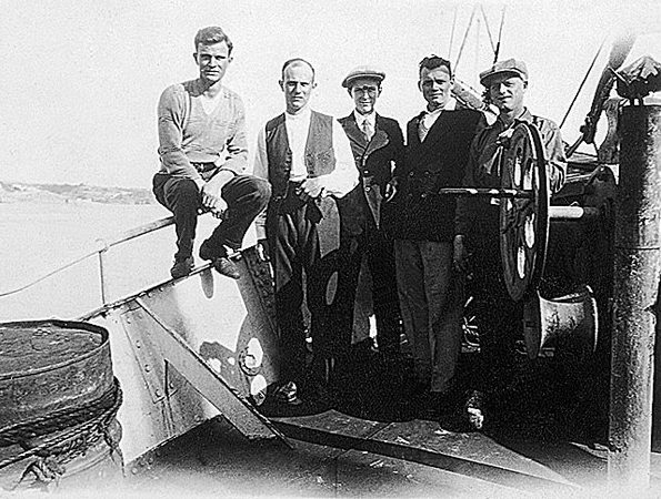 escale à Portimao en juin1932.